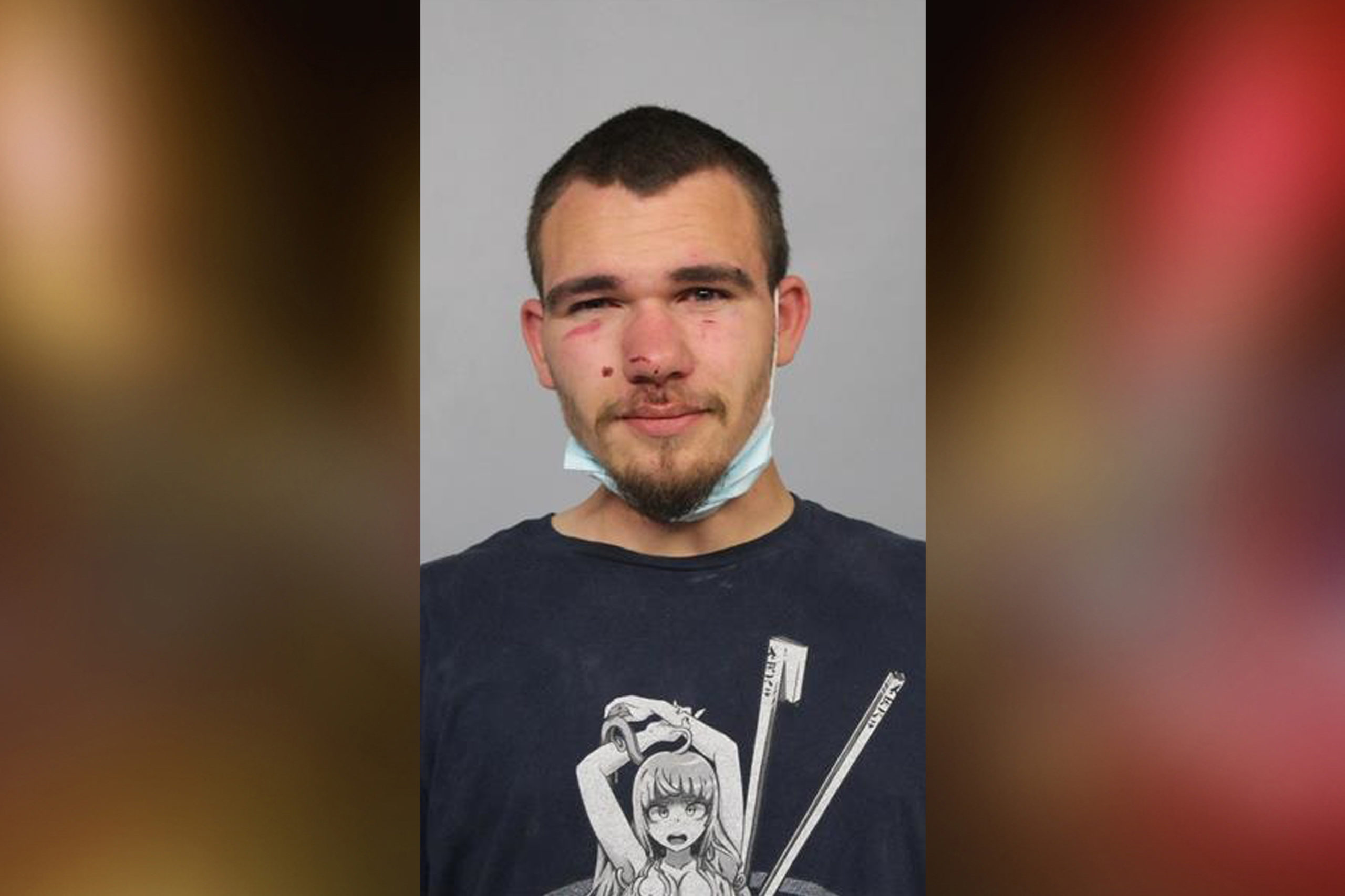 Camden man allegedly exposed, fondled himself in front of